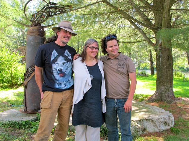 Documentary to air on the gun sculpture project